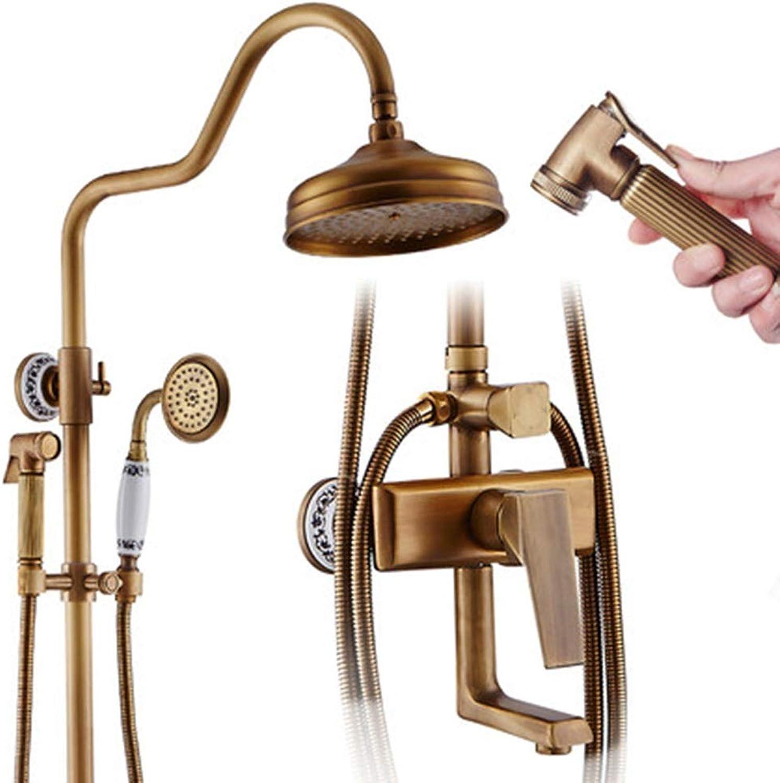 Duschsystem, 140 Dichte Wasserauslsse, Hochdruckwasser, Vier Auslsse