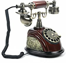 $79 » Vintage Antique European Style Old Fashioned Rotary Dial Phone Handset TelephoneHandset Desk Telephone CeramicTelephone ...