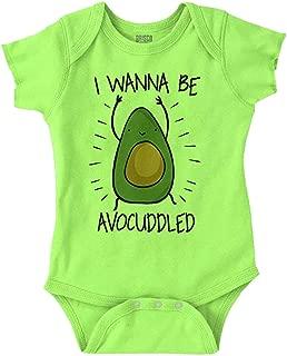 avocado onesie baby