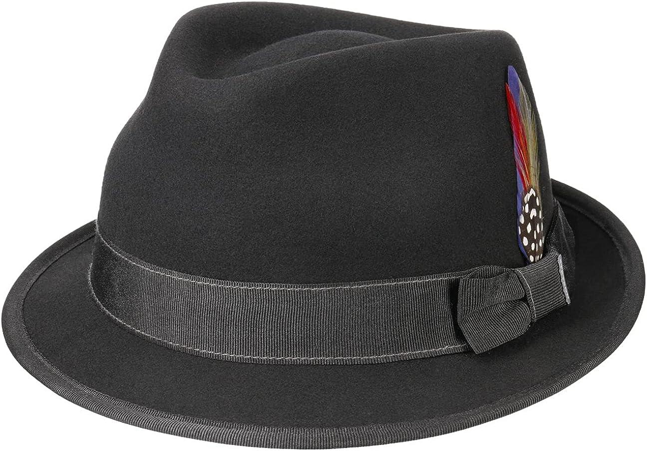 Stetson Boston Trilby Wool Felt Hat Women/Men -