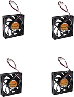 KESOTO 4pcs Cooling Fan 70mm Brushless Dc 12v Fan 7cm PC Computer Accessories