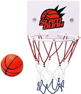 Juego de Juguetes de Baloncesto para ni/ños con Soporte de Pared y Bomba Liamostee