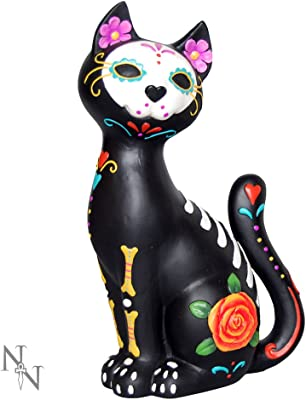 Nemesis Now Sugar Kitty 26cm Figurine, us:one Size, Black