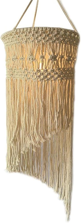 Zzx Boho Memphis Mall Hanging 5 ☆ popular Pendant Light Shade Ceiling Knitting Lamp