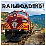 Railroading 2021 Wall Calendar