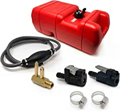 Five Oceans Marine 6 Gallon Fuel Tank/Portable Kit for All Yamaha and Mercury Engines Connection, 3/8