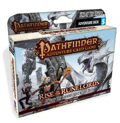 Paizo Publishing - Pathfinder Adventure Card Game - Rise of the Runelords Deck 5 - Sins of the Saviors Adventure Deck - Version Anglaise