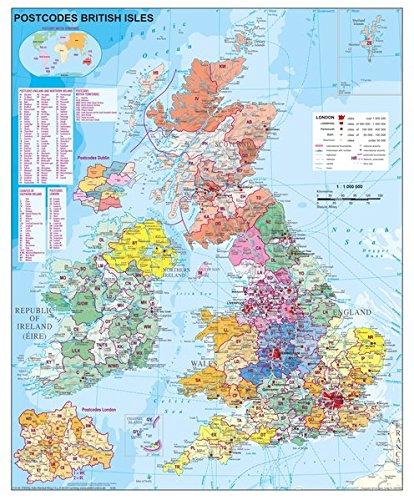 Großbritannien Postleitzahlen
