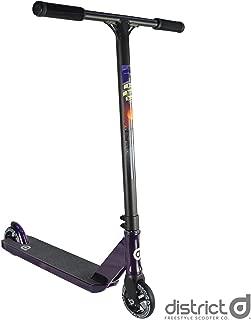 District Rich Zelinka C50R Complete Pro Stunt Scooter - Purple Chrome/Black