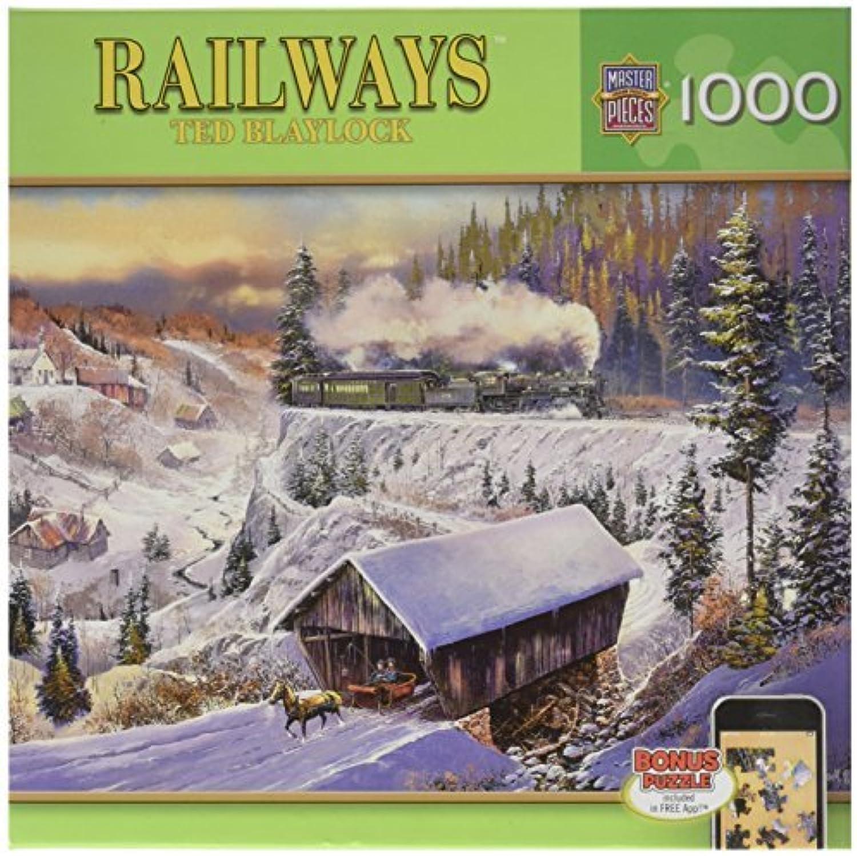 precios al por mayor Masterpieces Wabash Cannonball Run Railways Jigsaw Jigsaw Jigsaw Puzzle (1000-Piece) by MasterPieces  punto de venta barato