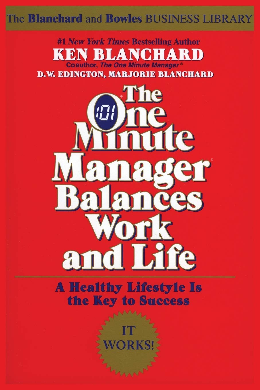 Image OfThe One Minute Manager Balances Work And Life (One Minute Manager Library)