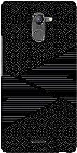 AMZER Slim Designer Snap On Hard Shell Case Back Cover for Infinix Hot 4 Pro - Carbon Fibre Redux 6