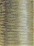 20' (609cm) x 0.35' Copper Ground Strap, Tin Plated, Cable/Wire, Flat Braided, USA Made