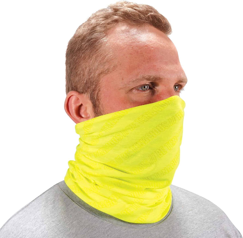 Ergodyne Chill Its 6485 Neck Gaiter, Multiple Ways to Wear Headband, Sweat-Wicking