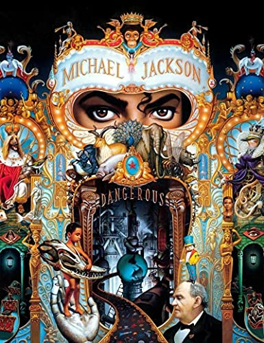 Aawerzhonda Lona Pared Arte Michael Jackson Dangerous Art Film Print Poster Home Wall Decor 60x90cm