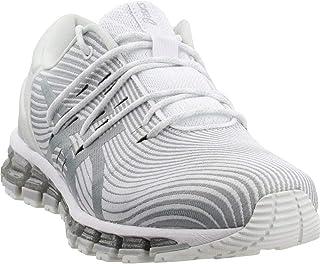 la mejor selección de ASICS mujer Gel-Quantum 360 4 4 4 zapatilla de deporte, blanco Mid gris, Talla 11  el mas reciente