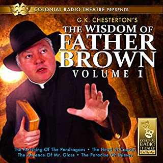 The Wisdom of Father Brown, Vol. 1 cover art