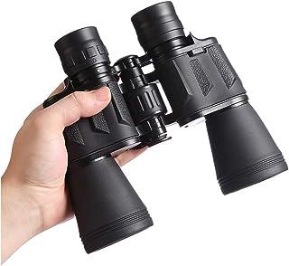 双眼鏡 コンサート 20倍 高倍率 望遠鏡 20x50 BAK-4ポリズム 防水 暗視 折り畳み ストラップ付き コンパクト アウトドア 運動会 バードウォッチング 狩猟 キャンプ 旅行(2019新しい) (20x50)