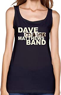 Dave Matthews Band Tank Top Women's Sexy Vest Personalized T Shirt Young Girl Summer Sleeveless Tops