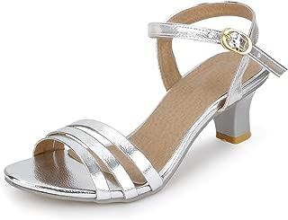 SHOFIEE Women's Leather & Party WEAR, Casual Heels