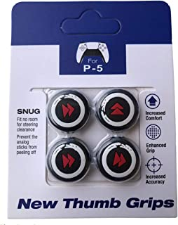 4PCS/set PS5 Joystick Caps Silicone Analog Controller Thumb Grips for Playstation 5, Grip Thumb sticks, Performance Thumbs...