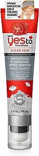 Yes To Tomatoes Detoxifying & Hydrating White Charcoal, Mud Mask, 2 Oz