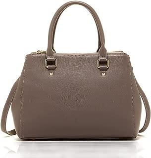 SUSU The Chloe Leather Satchel Tote Bag