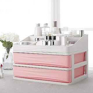 Cosmetic Makeup Organizer with Drawers Plastic Bathroom Skincare Storage Box Brush Lipstick Holder Jewelry Storage Case Di...