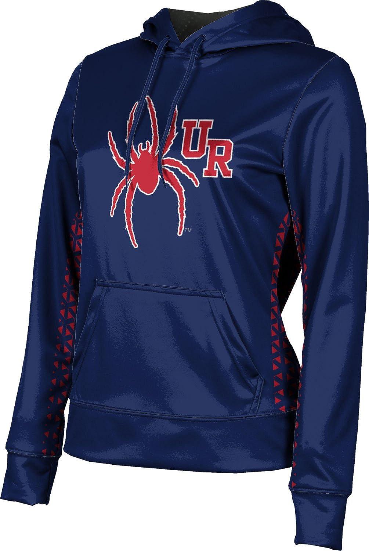 ProSphere University of Richmond Girls' Pullover Hoodie, School Spirit Sweatshirt (Geometric)