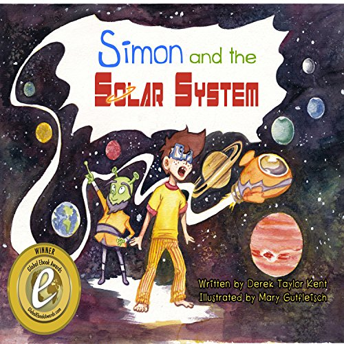Simon and the Solar System audiobook cover art