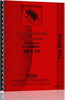 International Harvester 350 Tractor Parts Manual (Diesel)