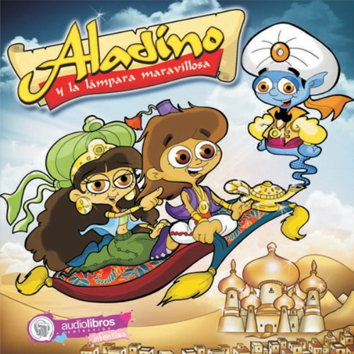 Aladino y la Lámpara maravillosa [Aladdin and the Magic Lamp] audiobook cover art