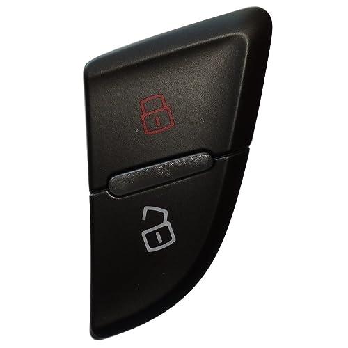 AERZETIX: Interruptor botón cierre de puerta delantera izquierda compatible con 8K0962107A 8KD962107 C16159