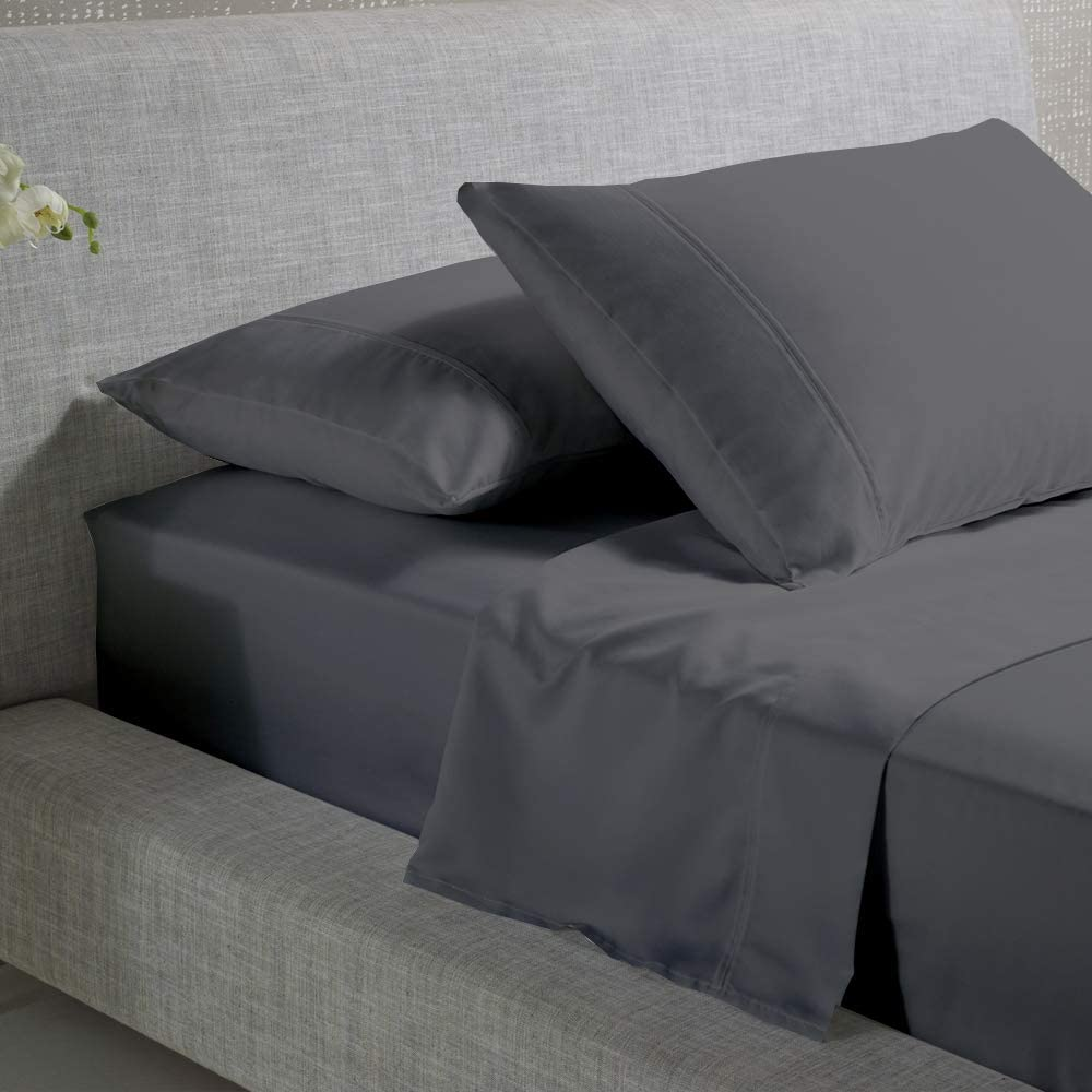 Queen outlet Sheets Sets - High material Cotton 400TC Grey 15