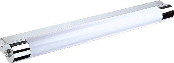 Trio Leuchten LED-badkamerwandlamp in chroom, inclusief 1 x 9W LED met schakelaar en stopcontact, breedte 64 cm 281570906