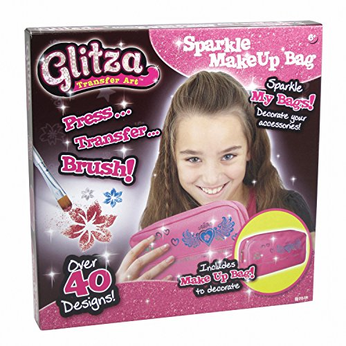 Knorrtoys GL7512 Glitter, set make-uptassen, glittertattoo
