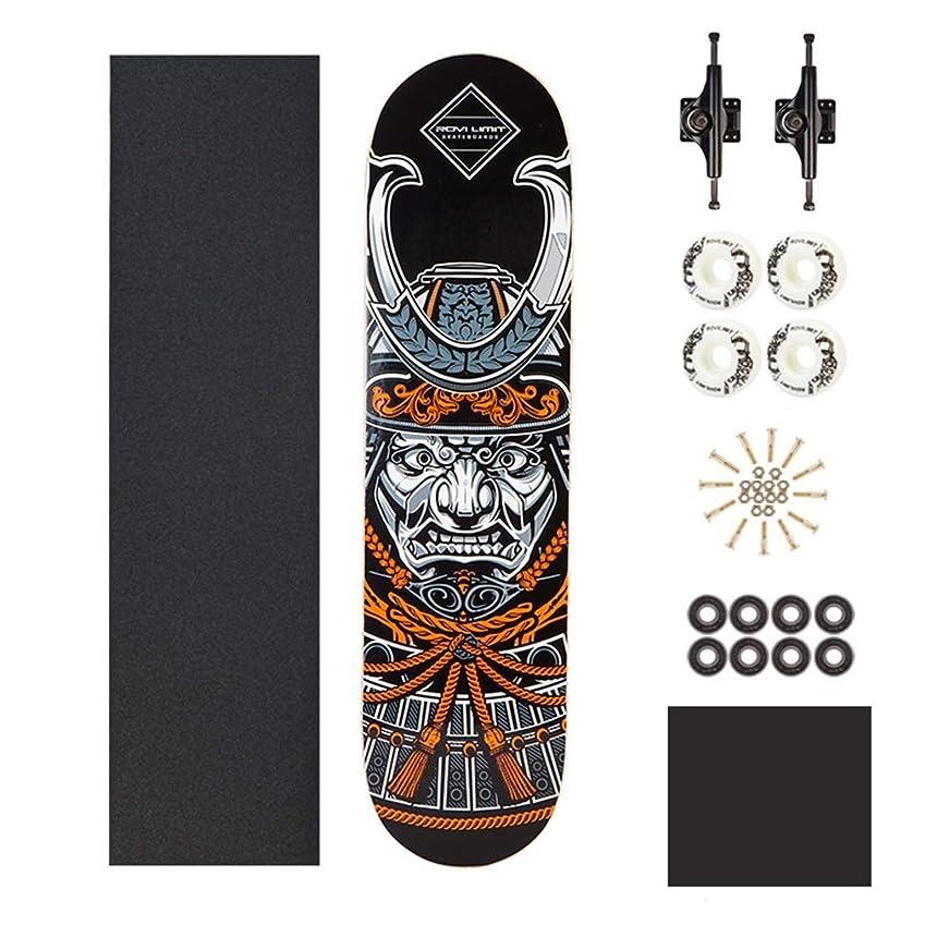 ギャラントリーボルト先見の明ZAIHW キッズアダルトコンプリートスケートボードスケートボード - 31インチ - 7層メープル - 子供のためのスケートボードツールとステッカーが含まれています男の子女の子年齢
