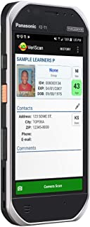 IDWare Portable Rugged Driver License ID Scanner with Age Verification Software
