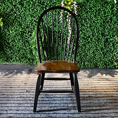 American Music Romantic Dining Chair Study Stuhl Aus Massivholz Antiker Windsor Stuhl Nordic Retro Casual Dining Chair