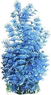 Yimosecoxiang - Planta Artificial para Acuario, Adorno de árbol Azul, decoración de pecera,