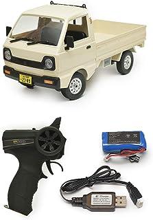 WPLJAPAN [D12] WPL 正規品 技適マーク付き 1/10スケール 軽トラ RCカー トラック バッテリー付き(ホワイト)