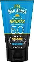 Man Arden Sunblock Sport Sunscreen SPF 50, Non Greasy & Water Resistant, 100ml - UVA & UVB Protection