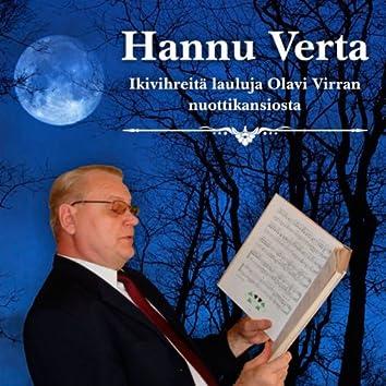 Ikivihreitä lauluja Olavi Virran nuottikansiosta