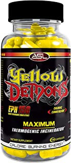 YELLOW DEMONS Thermogenic Fat Burner Anabolic Science Labs, Best 100% Complete All In One Appetite Suppressant, Clean Ener...