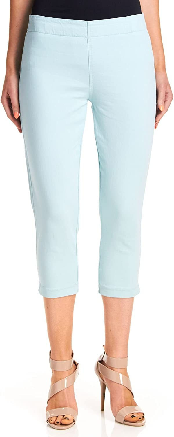 Miraclebody Women's Louise Minneapolis Mall Pull-On Colored Leggings Japan Maker New Cropped Aqu