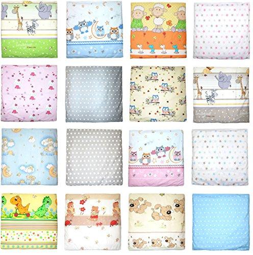 Deko Kissenbezug Baby Kinder Bezug für Kissen Kopfkissenbezug (D25)