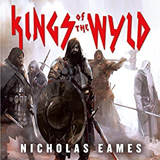 Kings of the Wyld     The Band, Book 1              By:                                                                                                                                 Nicholas Eames                               Narrated by:                                                                                                                                 Jeff Harding                      Length: 17 hrs and 48 mins     133 ratings     Overall 4.6