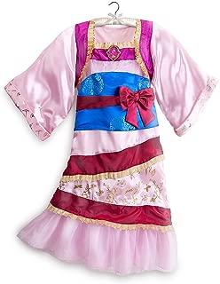 Disney Store Princess Mulan Halloween Costume Kimono Dress Size Medium 7/8