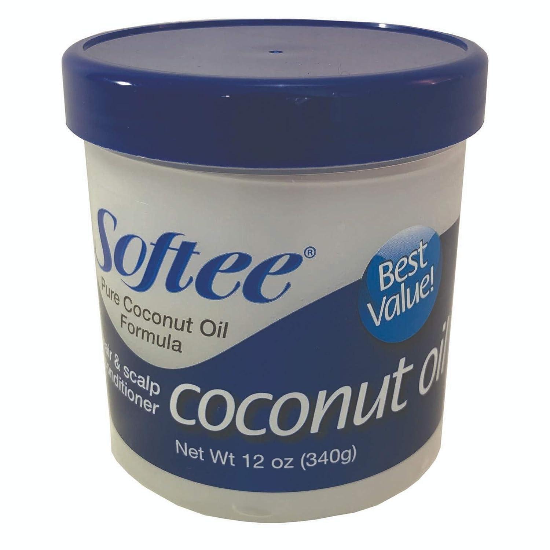Softee Coconut Oil 12oz,Beauty Enterprises,,911