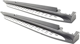 Running Board Compatible With 2013-2019 Benz GL350 GL450 GL550 GLS   SUV Factory Style Side Step Bar Nerf Bars by IKON MOTORSPORTS   2014 2015 2016 2017 2018